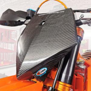 KTM Front Number Plate side