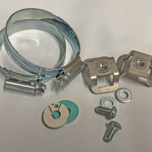 Universal Exhaust Guard - Bomb Guard fitting Kit