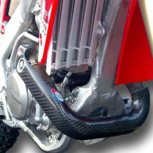 Honda Exhaust Guard - CRF 450 2009-12