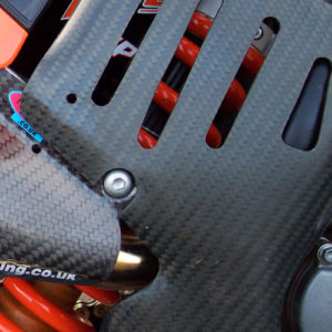KTM Frame Guards - Tall - 125 to 450 SX/SX-F 2005-06 .... 125 to 530 EXC/EXC-F  2005-07