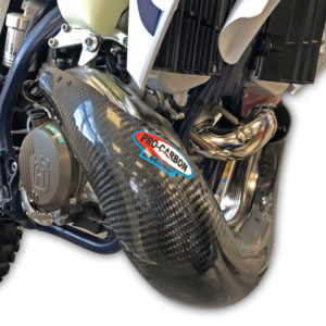 Husqvarna Exhaust Guard - Years 2020-2022 TE 250/300 Standard Pipe