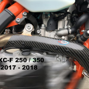 KTM Exhaust Guard - Year 2017-19 - 250 EXC-F