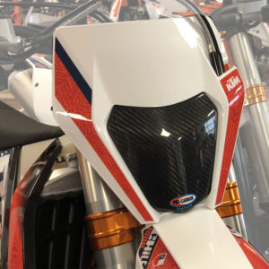 KTM Headlight Protector - EXC / EXC-F all - 2014-22