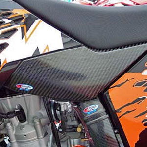 KTM Tank Cover 2007-10 Sides - 125 to 530 SX / SX-F   2007-10