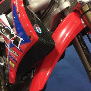 Honda Radiator Shroud Tips - CRF250  2014-17     CRF450   2013-16