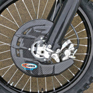 Sherco Front Disc Guard - Including Fitting Kit - 2018-21
