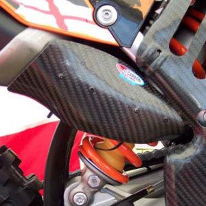 KTM Silencer Protector - SX-F 250 2007-10 .... EXC-F 250 2008-11