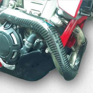 Gas Gas Exhaust Guard - 2021-22 EC 350F